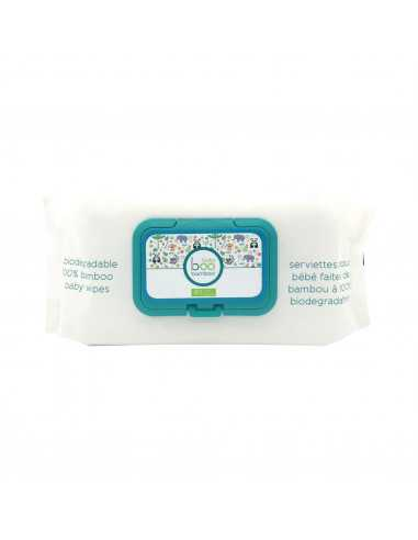 Biodegradable 100% Bamboo Baby Wipes...