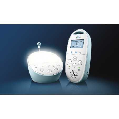 DECT BABY MONITOR WITH TEMPERTURE INDICATOR AND NIGHT MODE