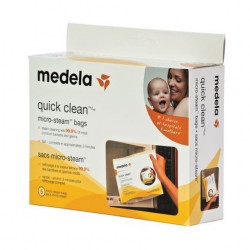 MEDELA Quick Clean* Micro-Steam* Bags for Micro-Wave (5 Units)