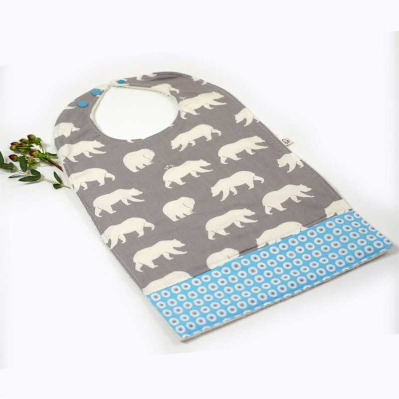 BIG BIB FOR LITTLE BELLIES ELEPHANTS