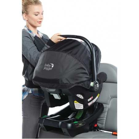 BABY JOGGER CITY GO INFANT CAR SEAT BLACK GREY