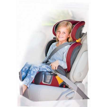BELT POSITIONING BOOSTER CAR SEAT CHICCO KIDFIT ATMOSPHERE