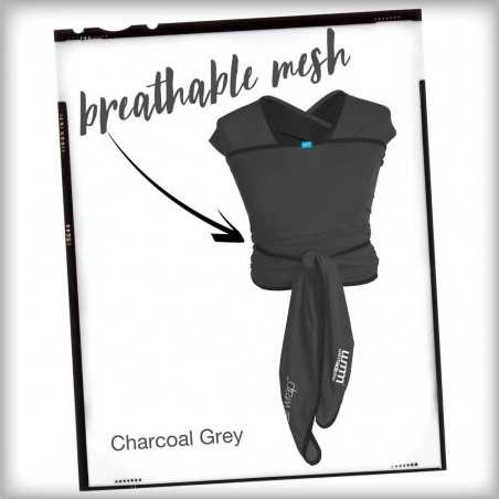 BABY CARRIER WE MADE ME FLOW CHARCOAL GREY