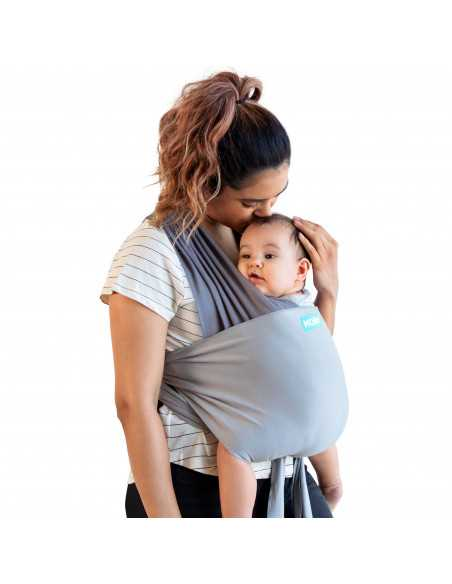 Moby Baby Carrier Easy Wrap - Smoked Pearl